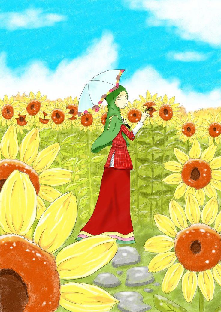 Yuuka and The Garden of Sun by hacitruna.deviantart.com on @DeviantArt