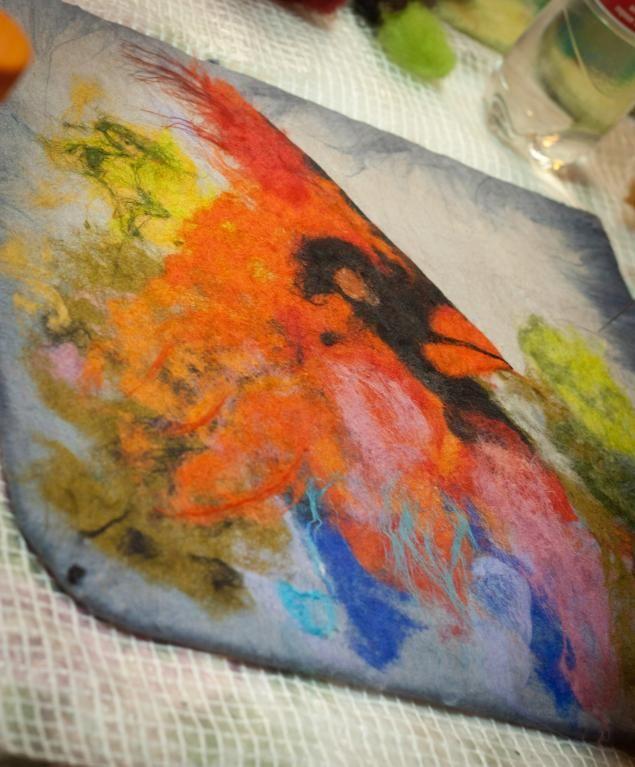 """Майский мк """"Акварельные птицы"""". Фотоотчёт. - Ярмарка Мастеров - ручная работа, handmade"""