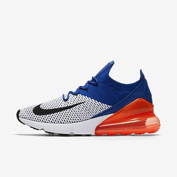Nike Air Max 270 Flyknit Herrenschuh – Weiß #lpu #sneaker