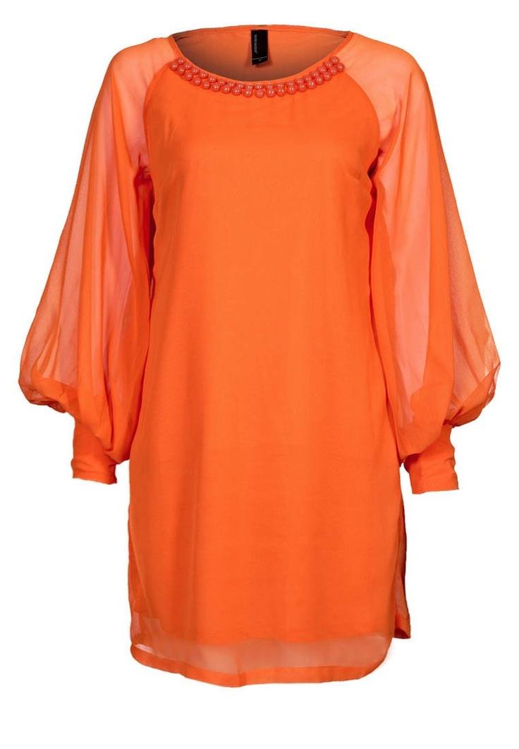 Vero moda - Vestito - arancione - fluo trend - 37,00€