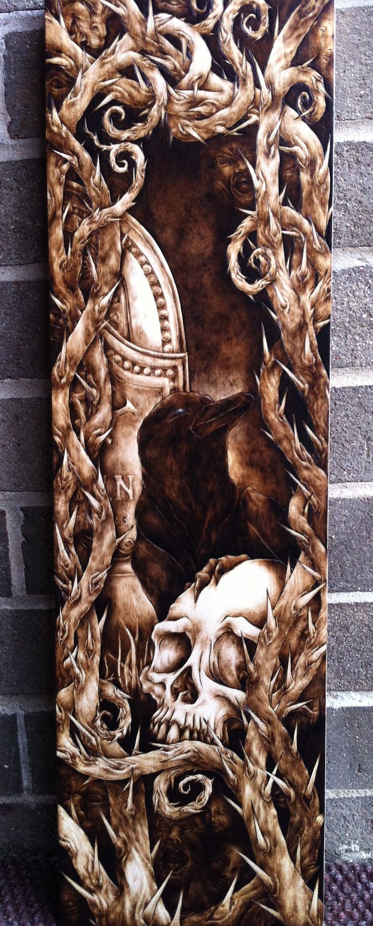Best pyrography burnt wood images on pinterest