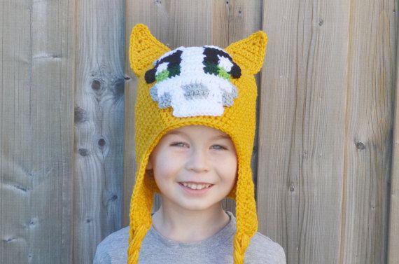 Stampy Hat Stampy Longnose Minecraft Stampy by DeesCozyCreations