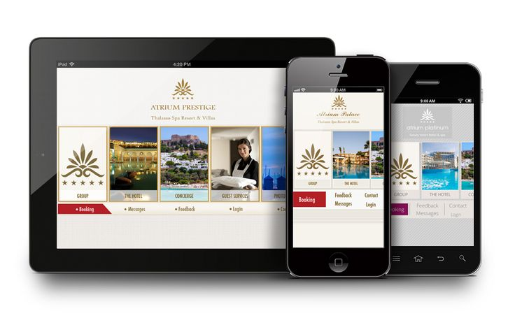Atriums hotels apps