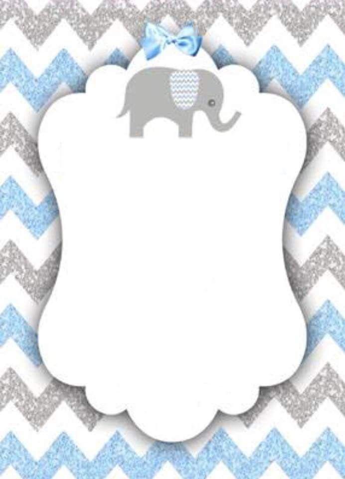 Pin De Antonella Leone Em Etikett Cha De Bebe Elefante Cha De Bebe Menino Decoracao Cha De Bebe