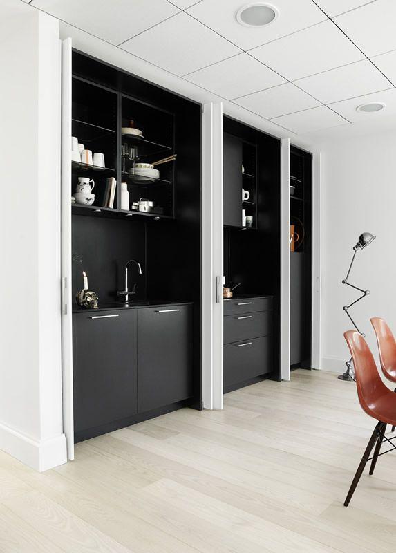 Hidden kitchen | Sola Kitchens