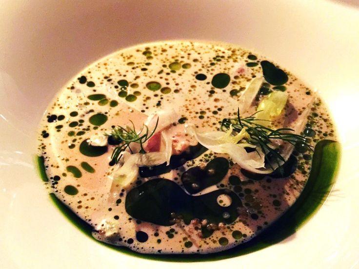 Gourmet fish soup at restaurant Demo, #Helsinki #gourmet #food #restaurant #luxury The best restaurants in Helsinki – lilyfoundit.com – HELSINKI