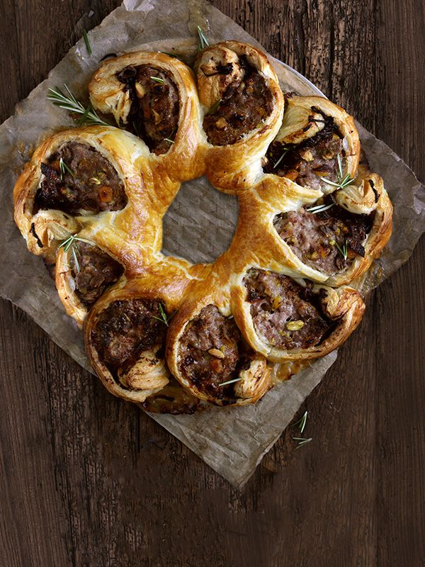 Sausage twist - Create a show-stopping tear and share sausage roll twist with step-by-step help from olive's test kitchen
