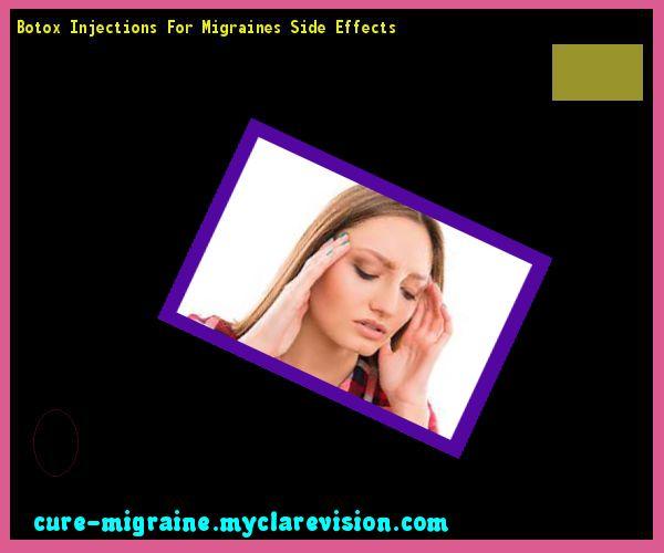 Migraine Botox study – Brainless Blogger