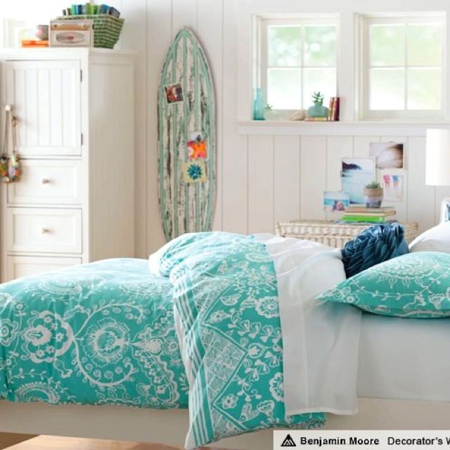 Pottery Barn Teen Girls Bedroom