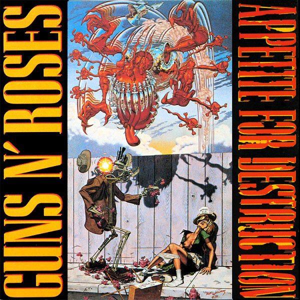 Guns N' Roses - Appetite For Destruction at Discogs