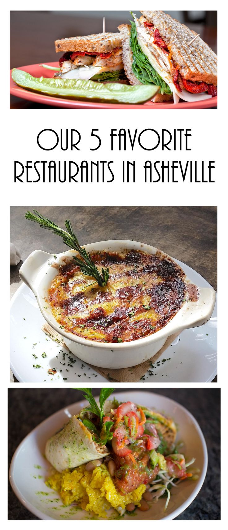 5 favorite restaurants in Asheville, NC. You need to try these!