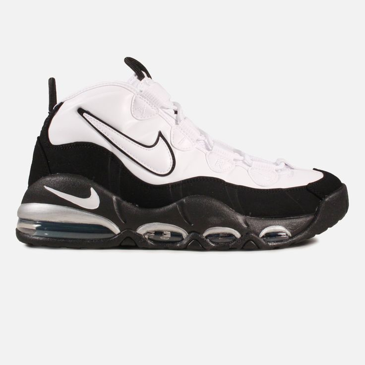 Nike Air Max Uptempo (White/Black-Teal) | Villa