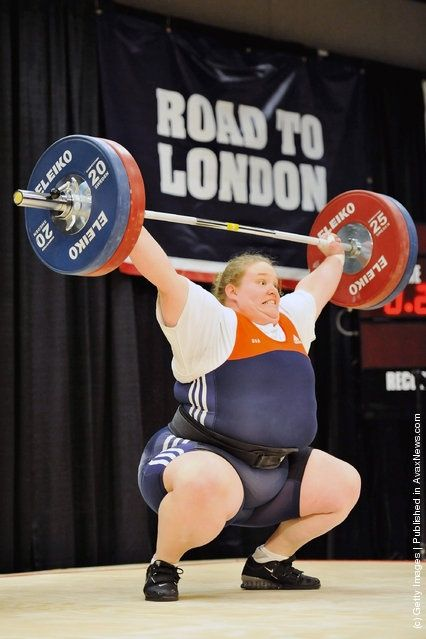 Holly Mangold. US Olympian. Fit and fat. We went to the same high school!