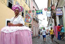 Afro-Brazilian - Typical dress of women from Bahia