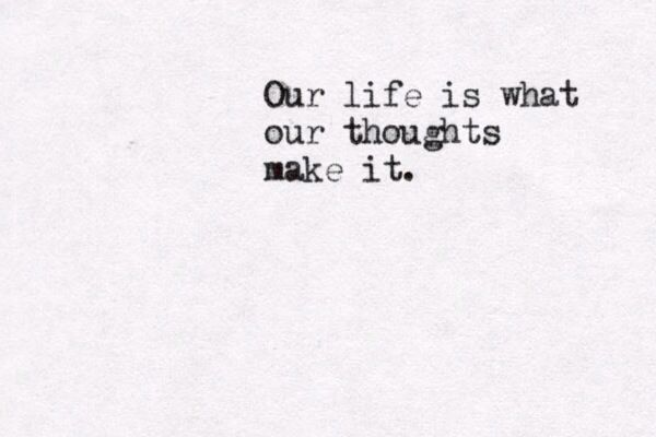 #typewriter #quote #life #change #marcus #aurelius #thoughts