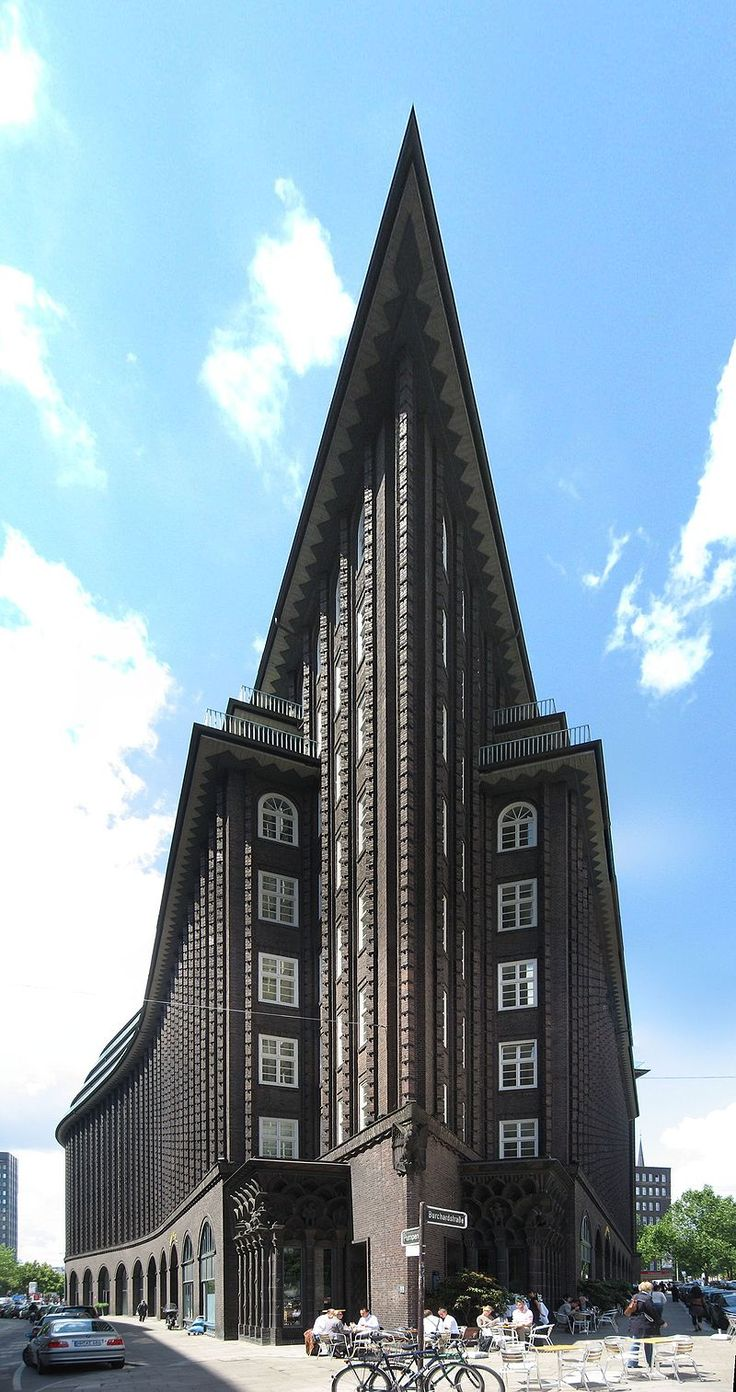 Chilehaus Point - Expressionismus (Architektur) – Wikipedia