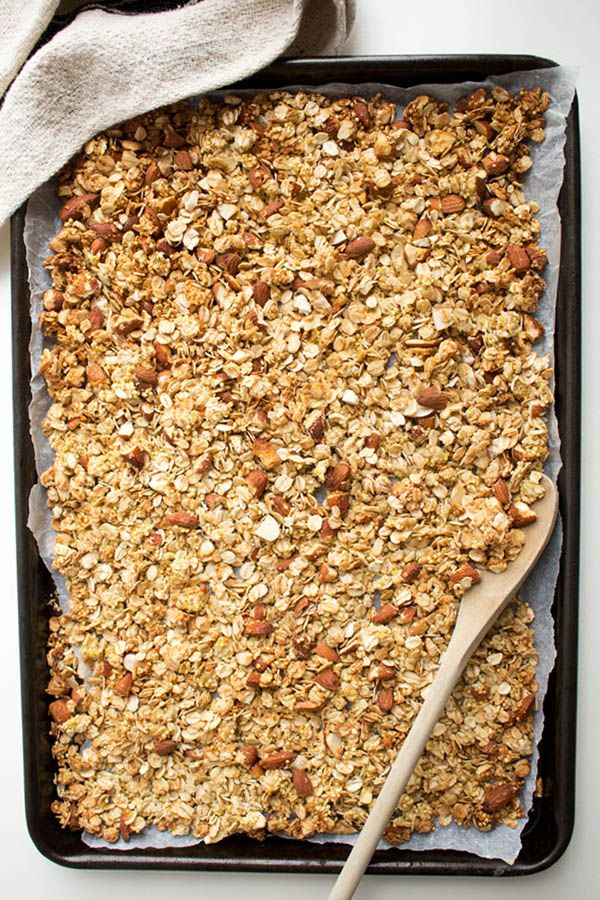 This Millet Granola With Orange Essence Is The Most Fragrant Granola Recipe I Have Made So Far Healthyrecipe Granola Granola Food Granola Recipes