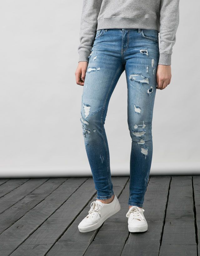 Jeans - MUJER - MUJER - Bershka Mexico