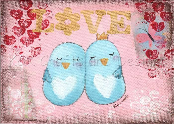 BLue Love Birds