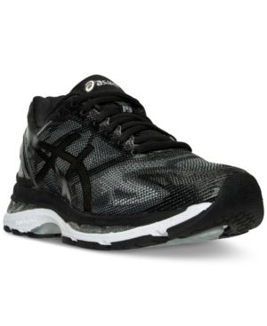Asics Women's Gel-Nimbus 19 Running Sneakers from Finish Line - Black 6