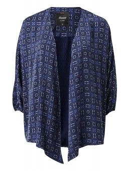 Printed Kimono Jacket #Jeanswest #backtowork #blue
