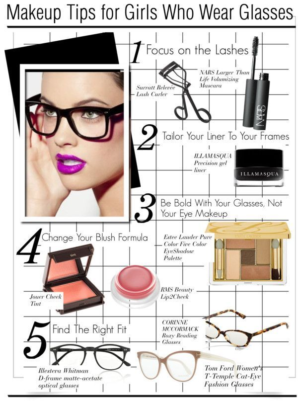0691155a105 make up tips for girls who wear glasses - Google Search  EyeMakeupCat