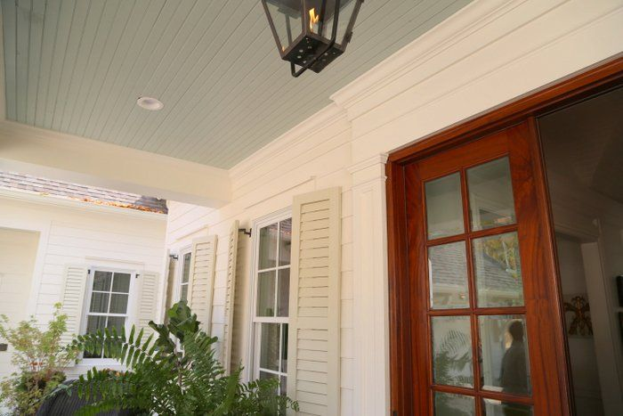 25 best ideas about sherwin williams dover white on pinterest sherwin williams white off - Exterior white trim paint pict ...