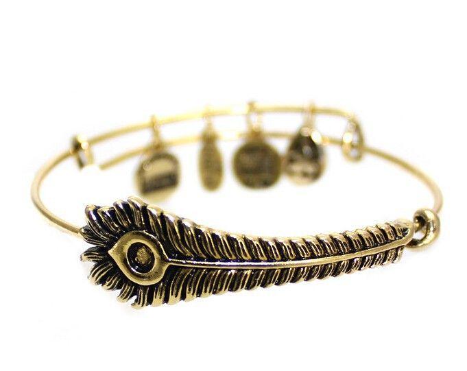 Дешевое Новый стиль ретро сплава золото серебро перо павлина браслет мода прелести личность старинные простые браслеты для женщин, Купить Качество Браслеты-талисманы непосредственно из китайских фирмах-поставщиках:     S                                                    &nb