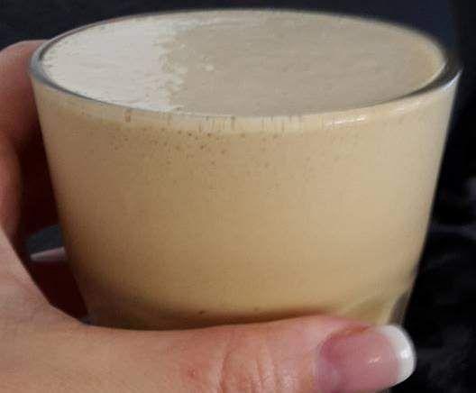 Geeister Kaffeeschaum light