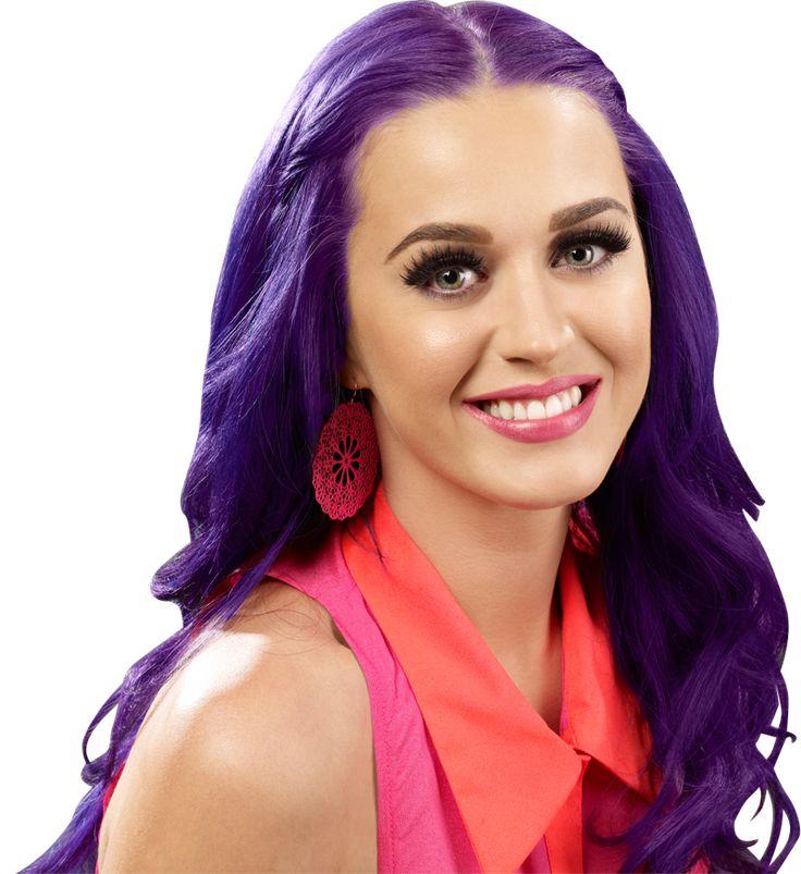 Celebrity Purple Hair Photos - Singers, Actresses