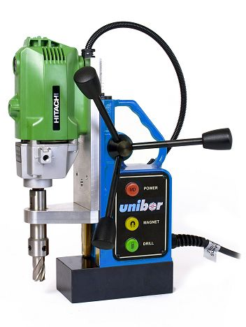 UNIBOR H32 Magnetic Drill. You can buy one of these #Unibor Mag Drills at amongst the cheapest UK prices available anywhere from: MF Hire (Sheffield). Nationwide Mainland delivery is available to most postcode areas. For the latest price please call (0114) 2750431. (MF Hire Sheffield).