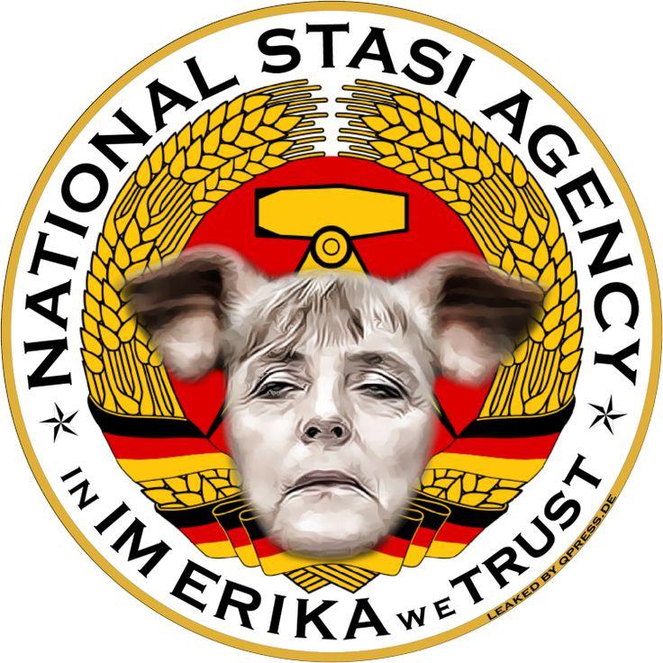 ❌❌❌ Die Spioniererei ist lange noch nicht vorbei und es gibt viele gute Gründe warum ausgerechnet Deutschland allzeit auf Herz und Nieren ausgespäht werden muss, wegen der scheinbar immer noch von ihm ausgehenden Gefahren. Nun, das kann kein Witz sein, denn so wird es ja faktisch praktiziert. Damit der dumme Michel nicht nervös wird, muss man ihm einwenig Theater vorspielen, was Aufgabe der Kannichtslerin Merkel ist, der solches auch mit Leichtigkeit gelingt. ❌❌❌