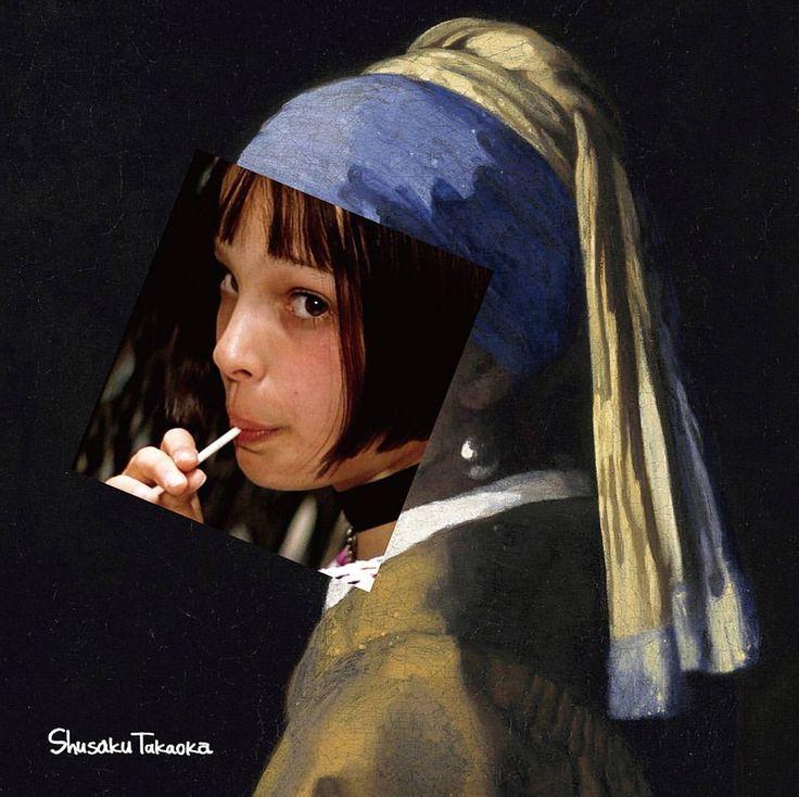 "5,042 Likes, 50 Comments - shusaku takaoka (@shusaku1977) on Instagram: ""#theprofessional #leon #matilda #vermeer * * * #art #artwork #artworks #artphoto #artphotography…"""