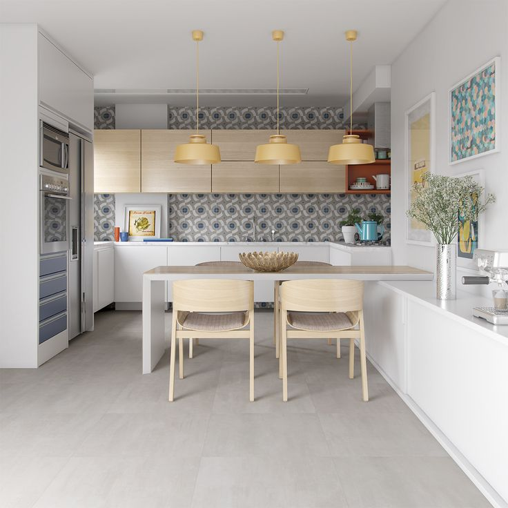 Urban modern 60x60 studio grigio 63x63 cocinas for Kitchen set expo
