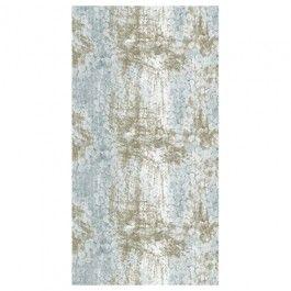 Marimekko Tunturipöllö Linen Fabric (Light Blue/Bronze)