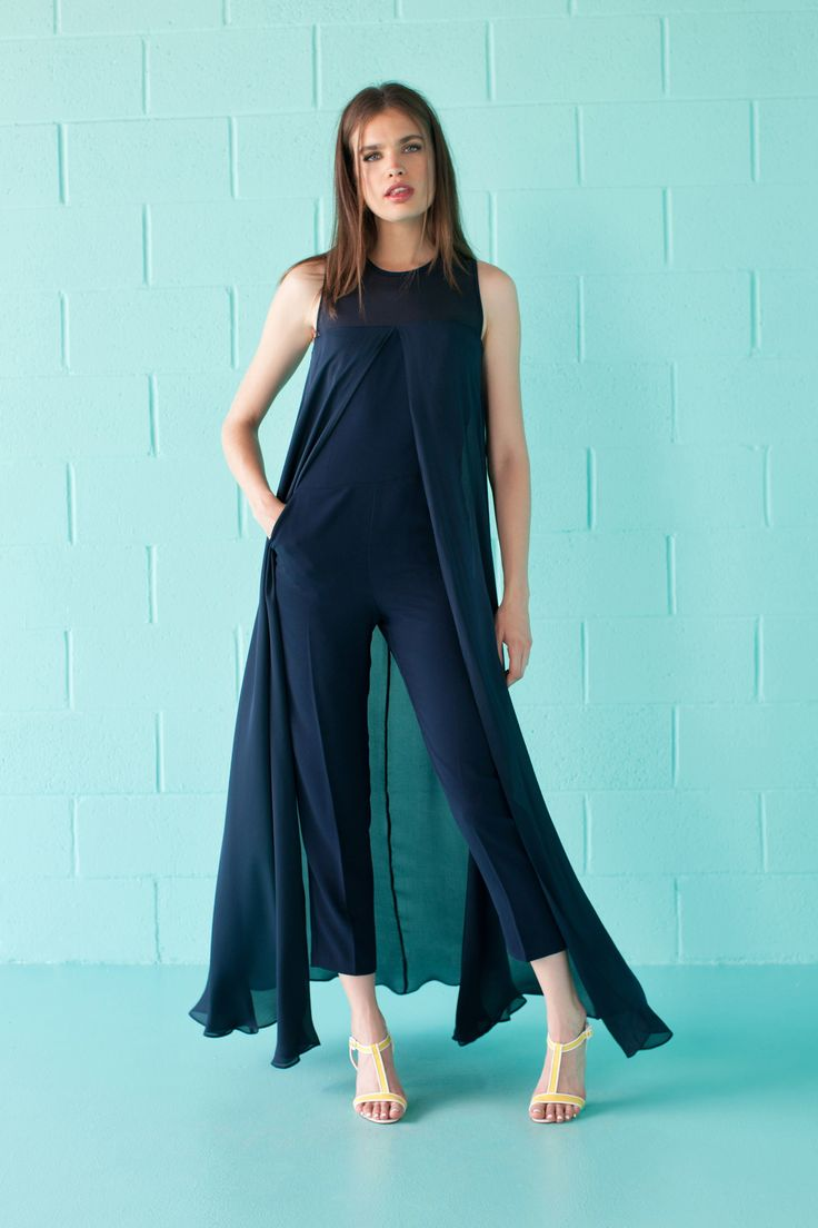 Gorgeous jumpsuit. Someone wear this at an awards show. // Trina Turk Spring 2016 Ready-to-Wear Fashion Show