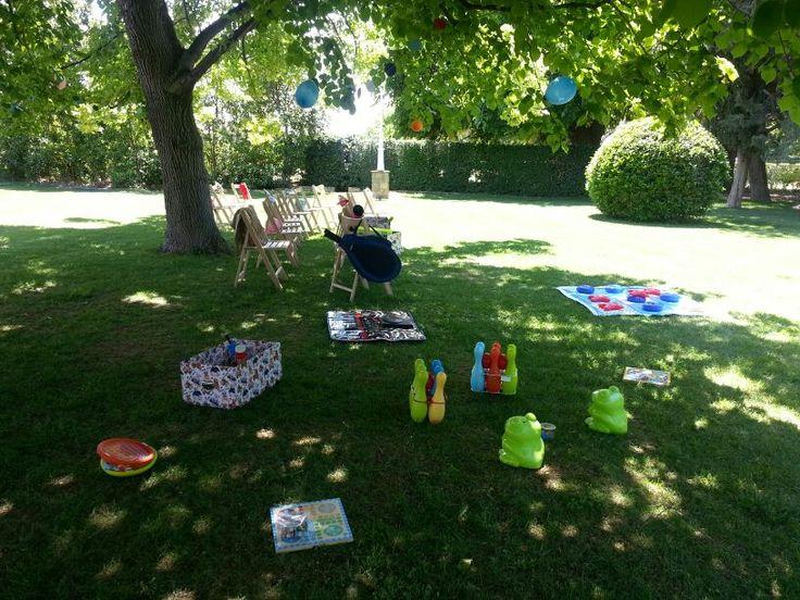 Decoración para #Animación Infantil #Comunión en #Finca Santa Ana #Zaragoza