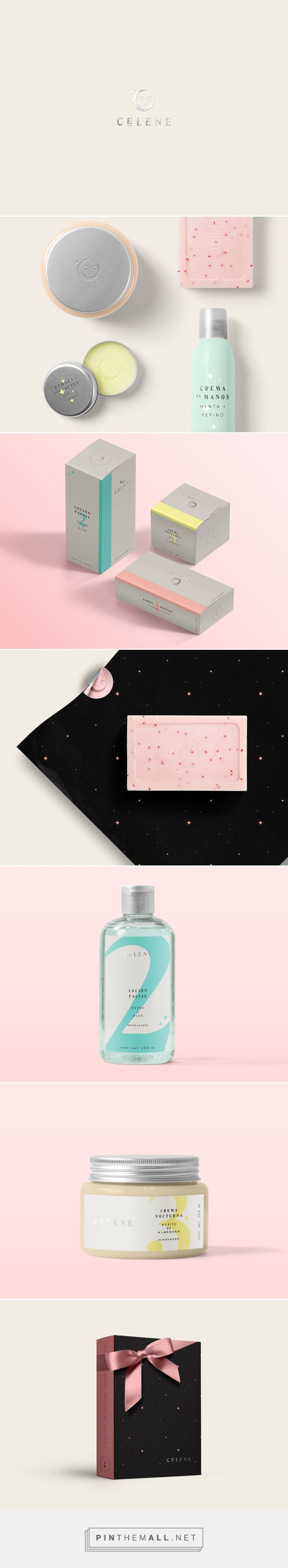 Célene packaging branding on Packaging Design Served curated by Packaging Diva PD. Célene es una marca de productos mexicanos con ingredientes y procesos naturales de producción.