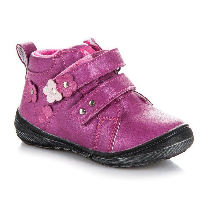 Polbuty I Trzewiki Dzieciece Dla Dzieci Americanclub American Club Rozowe Trzewiki Dziewczece Boots Baby Shoes Shoes
