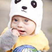 panda hat.
