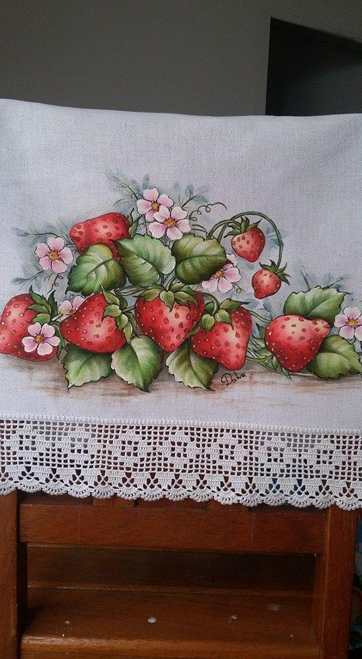 A pintura para mim faz parte do fortalecimento e alegria e apreciar tudo da natureza