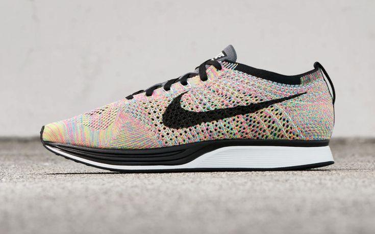 Nike Flyknit Racer Rainbow Now Available