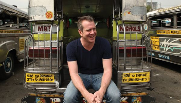 Andrew Younghusband, host of Don't Drive Here and Canada's Worst Driver, talks about past trucks, unforgettable drives and food overseas.
