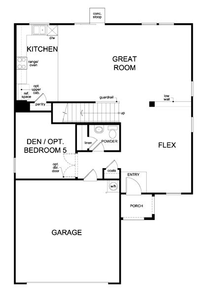 9 best kb homes floor plans images on pinterest | kb homes, floor
