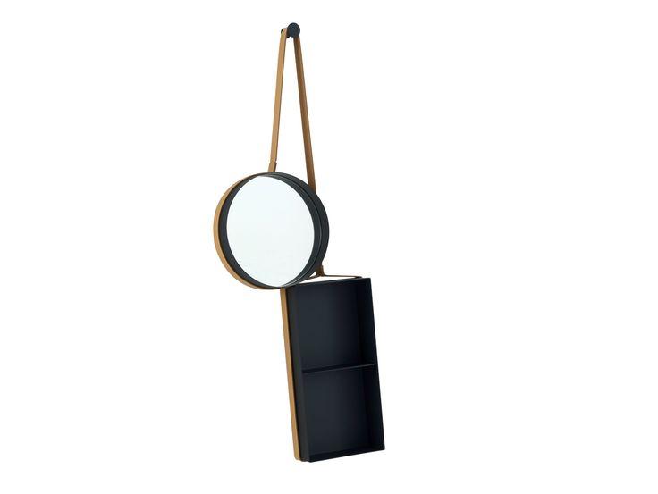 attaccapanni ikea a mobiletto : Specchio / mobile da ingresso VANITY SHELF by ROSET ITALIA design ...