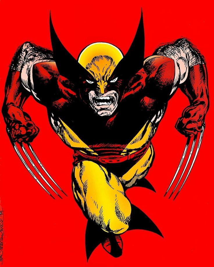 WOLVERINE #xmen #mutant #wolverine #avengers #marvel #comicart #mar2018a