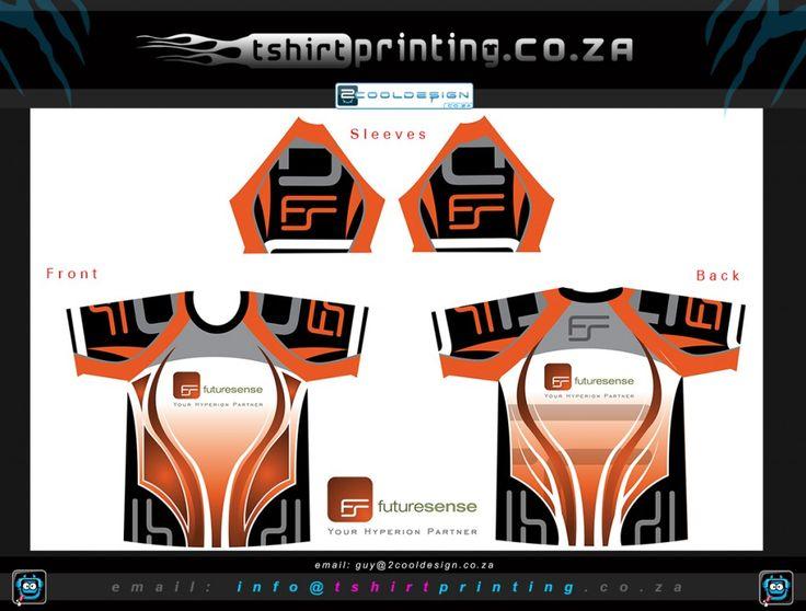 custom running team shirt design concept 2014