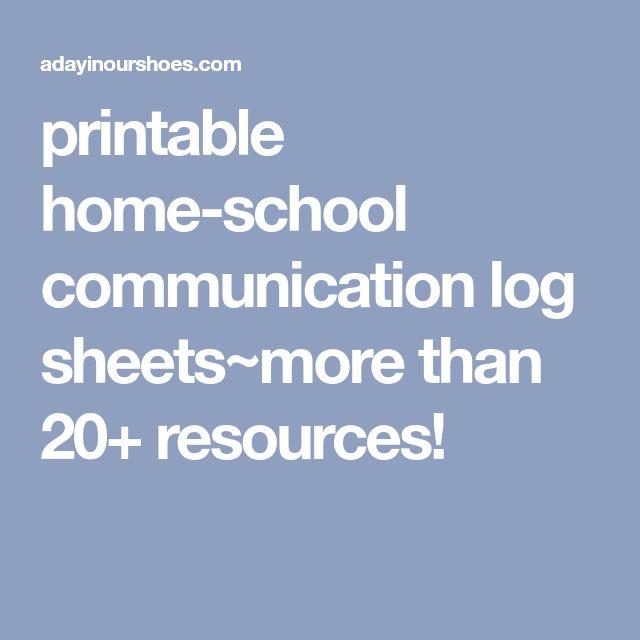 Best  Communication Log Ideas On   Parent