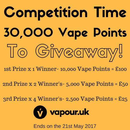 Vapour UK Giveaway!