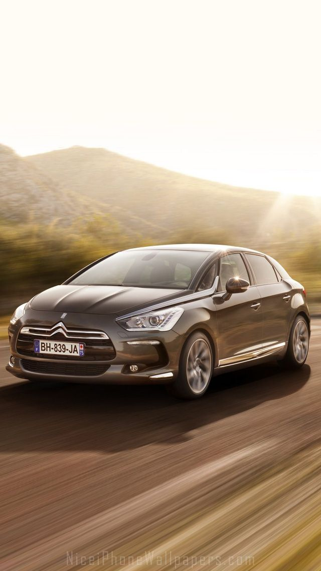Citroen DS 5 HD iPhone 5 wallpaper